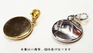画像3: 迷子札★カニカン&ストーン付(17ミリ)