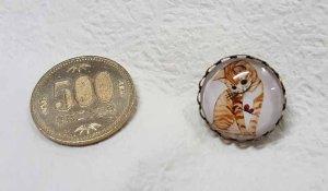 画像3: ピンブローチ★しま猫
